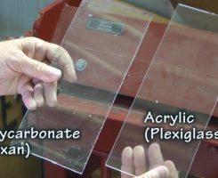Meglio il Lexan o il plexiglass?