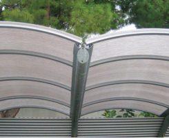 Policarbonato per tettoie e coperture