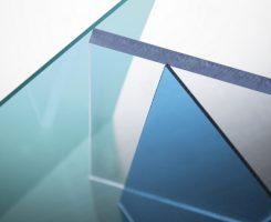 Lastra policarbonato compatto Lexan 9030, Margard, Exell D, Glass Filled e Easy Clean tagliata a misura