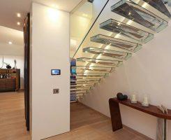 Pannelli in plexiglass per scale